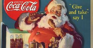 La verdadera historia de Papá Noel y la Coca Cola